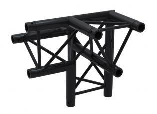 F33PLB Angle 3D 50cm Apex Up Right ( 6 connecteurs inclus ) BLACK