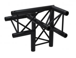 F33PLB Angle 3D 50cm Apex Up Left ( 6 connecteurs inclus ) BLACK