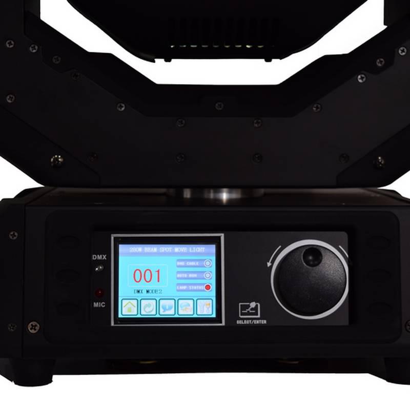Pannaux controle beam 10r