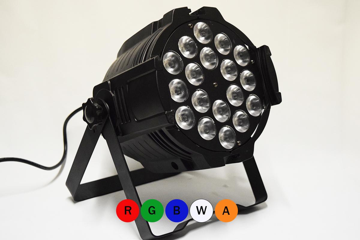 Par LED 18X15W RGBWA