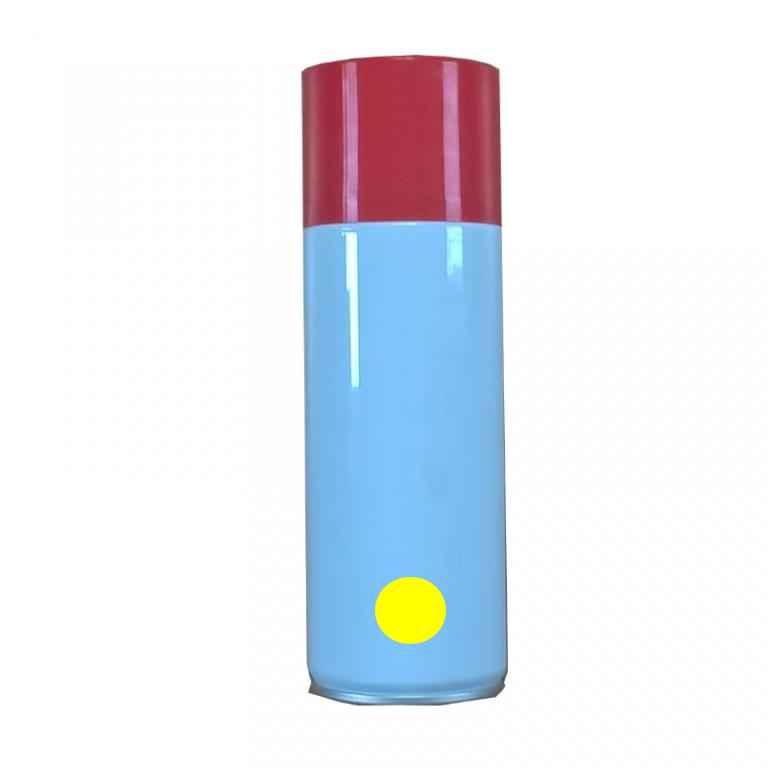 Bombonne recharge gaz projecteur de flamme jaune