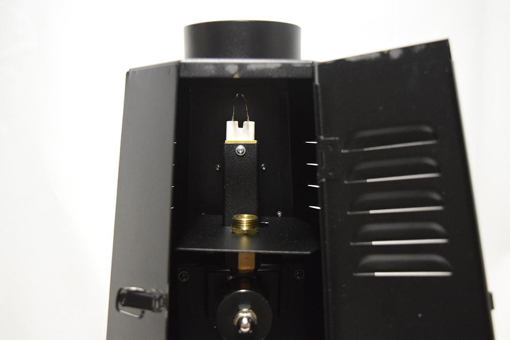 Projecteur flamme bouteille de gaz 2